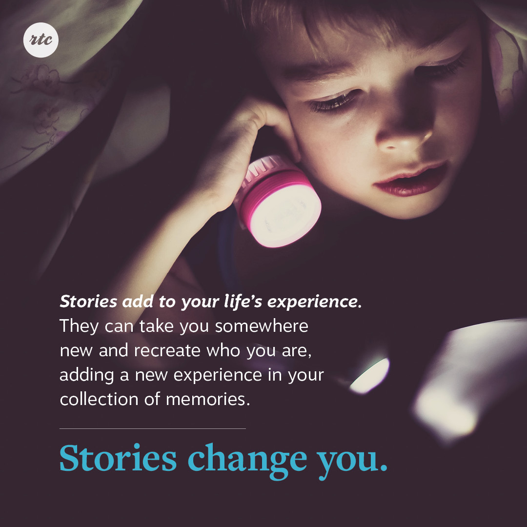Stories Change You